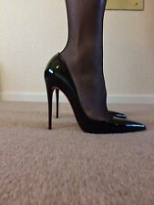 Christian Louboutin So Kate Patent Calf Black Size 42 UK 9 US 11