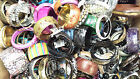 WHOLESALE JOB LOT x 100 CHUNKY BANGLE BRACELET COLLECTION