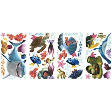 Disney FINDING NEMO 44 BiG WALL DECALS Kids Bathroom Stickers Room Decor Fish R1