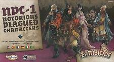 Zombicide: Black Plague Notorious Plagued Characters 1 Expansion COL GUF003