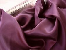 Set of 2 100%  Mulberry Silk charmeuse pillowcase King pillow case Plum Purple