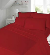 Flannelette Brushed 100% Cotton  Fitted Sheets,Flat Sheets Or Pillow Cases