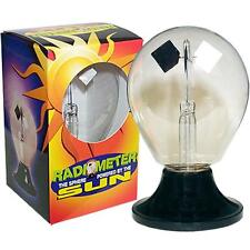 NC-0771 Radiometer - Light Mill, The Classic Sphere Powered by the Sun!