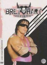 WWE Bret Hart Best there is Best there was... 3 DVDs Orig WWF Wrestling