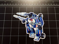 Transformers G1 Mirage box art vinyl decal sticker Autobot toy 80s 1980's