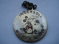 C1930S VINTAGE INGERSOLL MICKEY MOUSE WATCHES&CLOCKS ADVERTISING MEDALLION