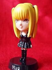 "Death Note MISA AMANE Bobblehead Figure / SOLID PVC 2.8"" 7cm MINT UK DESPATCH"