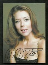 James Bond Autographs and Relics Gold Gallery GG40 Diana Rigg / Tracy Di Vicenzo