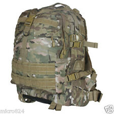 Fox Outdoor Survival Backpack Genuine Multicam Camo Large 3-Day Tactical Molle