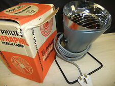 Infrared health lamp perfect working 'prescription BARBER 596 electrical 1950's