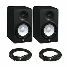 "Yamaha HS5 Powered Studio Monitor PAIR, 5"", 2Way, 70W - Free Ship & XLR Cables"
