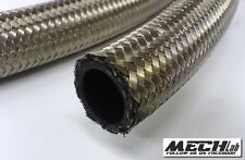 tubo AN6 8mm in treccia acciaio inox alta pressione mocal setrab benzina olio