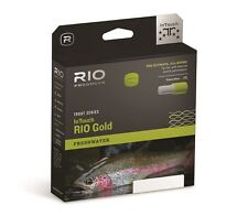 RIO InTouch Gold Fly Line, WF5F,  Moss/Gray/Gold...New