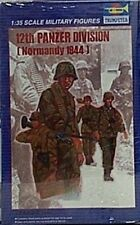 Trumpeter 1/35 German 12th Panzer Division Soldier Figures New 1944