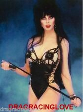 "Cassandra Peterson ""Elvira"" ""Mistress of the Dark"" SEXY"" ""Pin-Up"" PHOTO! #(4)"