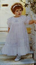 Vintage Heirloom Sewing-Child's Dress Pattern