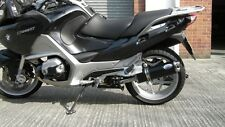 BMW R1200RT (2010-2013) black oval twin outlet Road Legal MTC Exhaust