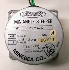 MINEBEA ASTROSYN TYPE 23LM-A202 MINIANGLE STEPPER MOTOR
