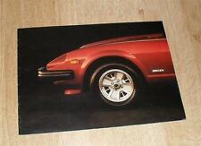 Datsun Nissan 280ZX Sports Car Brochure 280 ZX 1980