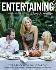 NEW Entertaining Made Easy with Deborah Hutton Signed copy. Free postage
