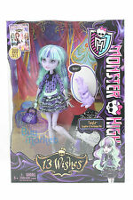 New Monster High Mattel Doll 13 Wishes Twyla Daughter Of the Boogey Man with pet