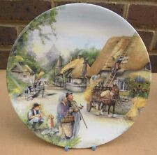 Royal Doulton Old Country Crafts Collector Plate-la Thatcher