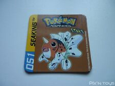 Magnet Staks Pokémon Advanced / 051 Seaking / Panini 2003 [ Neuf ]