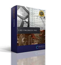 CAD Architectural, Engineering & Auto Design Software with User Guide