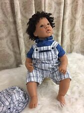 "Lee Middleton Custom Full Vinyl Toddler Doll ""One Special Little Boy"""