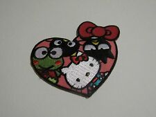 Loungefly Sanrio Hello Kitty 50th Anniversary Iron on Embroidered Heart Patch