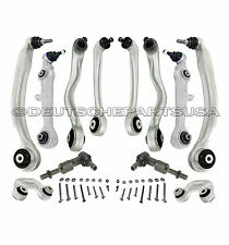Audi A4 4.2 3.0 2.7 QUATTRO Control Arm Ball Joint Kit Tie Rod Suspension Kit 13