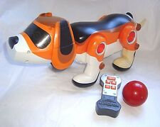 Tekno Playful Pup Robotic Puppy Dog & REMOTE Real-time Emotions beagle Sensors