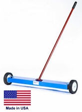 """MAGNETIC SWEEPER Commercial/Industrial - 32"""" Cleaning Path  150 Lb Lifting Power"""