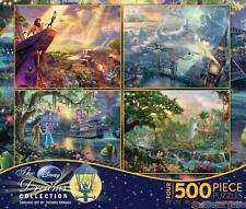 Ceaco Four Pack Jigsaw Puzzle 500 Piece The Disney Dreams Collection