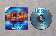 "CD AUDIO MUSIQUE / MC SAR AND THE REAL McCOY ""IT'S ON YOU (REMIX 94)"" 2T CDS"