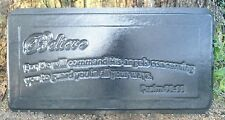 1/8th plastic Believe bench top concrete mold see more moulds in my ebay store