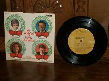 We Wish You Merry Christmas-Radio Shack-Julie Andrews-Record