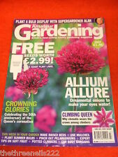 AMATEUR GARDENING - ALLIUM ALLURE - JUNE 7 2003