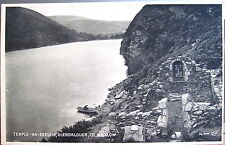 Irish Postcard TEMPLE-NA-SKELLIG GLENDALOUGH Wicklow Ireland Bromotype Valentine