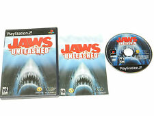 Jaws Unleashed Sony Playstation 2 PS2 Video Game Complete