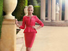 Carla Ruiz Mother Of The Bride Red Dress Suit - Size 8-10 - Box6229 C