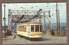 VINTAGE RAILROAD POSTCARD UNUSED MTC MONTREAL TRAIN COMMISION #1547 255