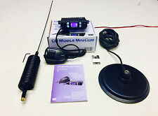 "Team CB Radio Mobile Mini Com Starter Kit + Mini Stinger Antenna & 6 "" Mag Mount"