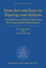 Oxford Logic Guides: From Sets and Types to Topology and Analysis : Towards...