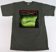 COUNTING CROWS T-shirt Recovering The Satellites Rock Tee Adult Mens MEDIUM New