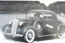"12 By 18"" Black & White Picture 1936 Chevrolet coupe"