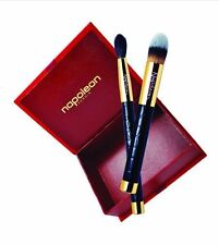 Napoleon Perdis Signature Style Black Croco Brush Set:  Sculpting & Foundation