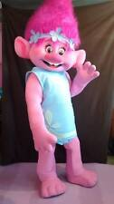Poppy From Dream works TROLLS Movie Costume Mascot Fancy Dress BRAND NEW