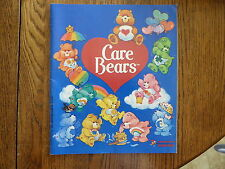 Vintage 1985 Care Bears Panini Sticker Book American Greetings Corps