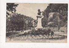 Boulogne Sur Mer Monument Docteur Duchenne Vintage Postcard France 537a